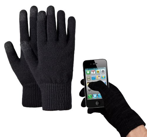 Touchscreen Handschuhe für iPhone iPad Smartphones Tablet PCs Touch Screen Gloves (S/M)