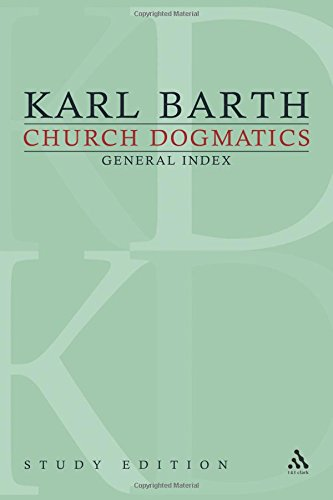 karl barth church dogmatics pdf