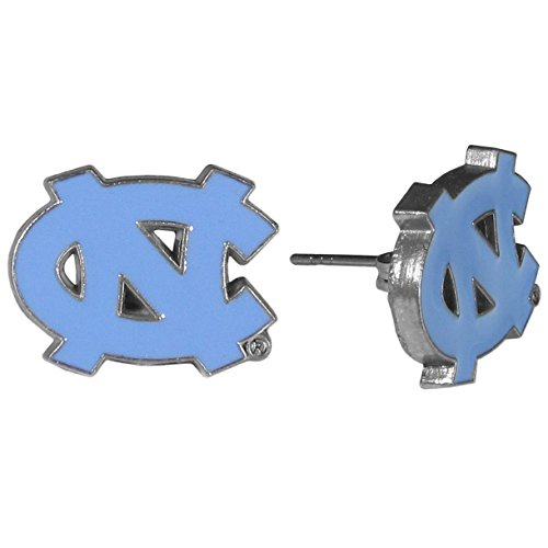 NCAA North Carolina Tar Heels Stud Earrings