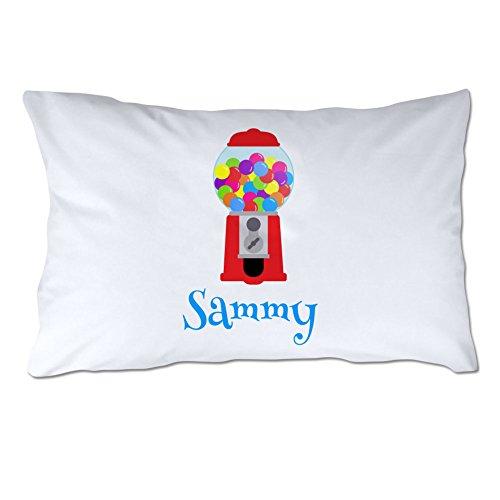 (Personalized Gumball Machine Pillowcase)
