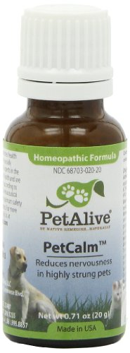 PetAlive PetCalm for Pet Nervous System Balance and Stress -