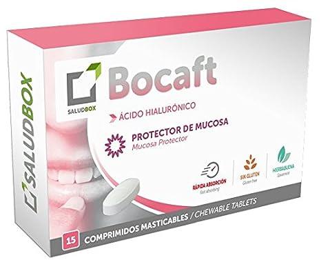 SaludBox Bocaft Comprimidos Desleíbles - 15 Unidades