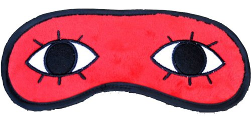 Gintama Accessories Sogo Okita Elizabeth Eye Mask Eyepatch Red with Black Sleeping Eye Mask