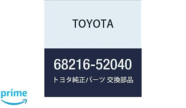 TOYOTA Genuine 68216-52040 Window Weatherstrip