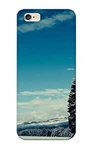 0b680e87141 New Premium Flip Case Cover Winter Landscape Skin Case For Iphone 6 Plus As Christmas's Gift