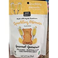 Project 7 Sparkling Mimosa Gourmet Gummies 4oz Bag Tasty Gummy Bears