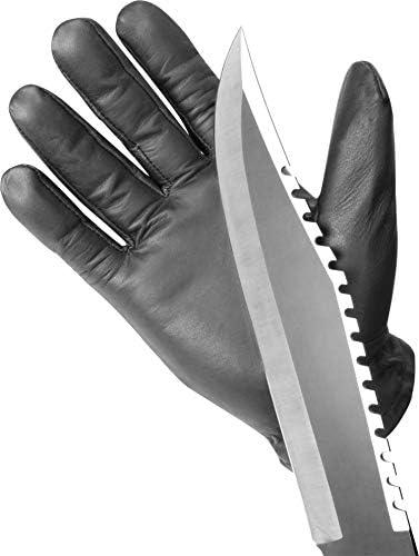 normani Einsatzhandschuh Super Defender aus Leder mit Quarzsandfüllung und schnitthemmenden Kevlar
