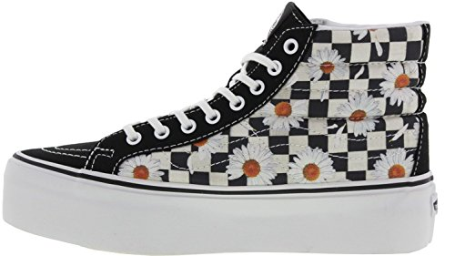 Vans hi platform - Zapatillas para mujer Multicolor negro/blanco/naranja
