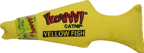 Yeowww! Catnip Toy, Yellow -