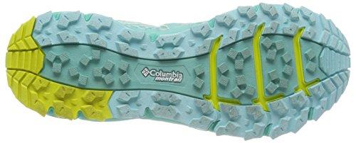 Zour II Running Azul Aquarium Mujer 307 Caldorado de Trail Zapatillas para Columbia qwAv5Ofxn