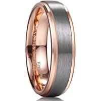 9c6ed10c06b0e 20 Best Rose Gold Wedding Rings For Men Reviews and Comparison on ...