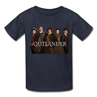 Kazza Kid's Outlander Round Collar T Shirt