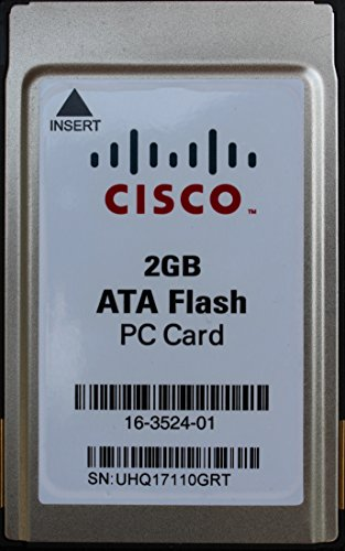 2GB ATA Flash PC Card (PCMCIA 68pin), Model Number: MEM-FD2G, Cisco Part Number: 16-3524-01, External PCMCIA Flash Memory Card for old Laptops, Server Operating System Upgrade medium for any Servers with 66 pin PCMCIA Slots