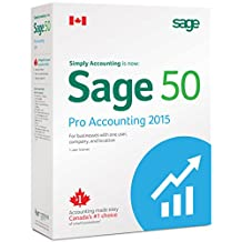 Sage 50 Pro Accounting 2015 Canadian Edition