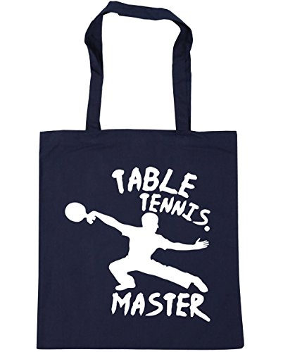 42cm French HippoWarehouse 10 Navy Tennis Bag Shopping Tote Table x38cm litres Master Beach Gym B7xB8f