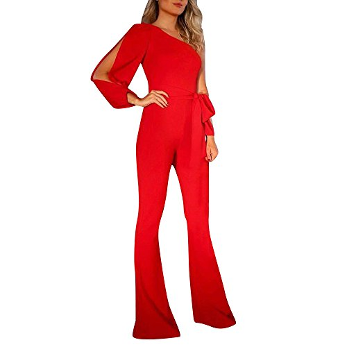 Dainzuy Jumpsuits for Women Casual Elegant V-Neck Wide Leg Long Pants Summer Solid Loose Plus Size Playsuit Rompers