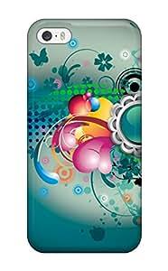 For IHobEKo6493WwbJm Hdtv Vector Designs Protective Case Cover Skin/iphone 5/5s Case Cover