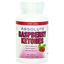 Absolute Nutrition Metabolism Enhancer, Raspberry Ketones, 60 Caps