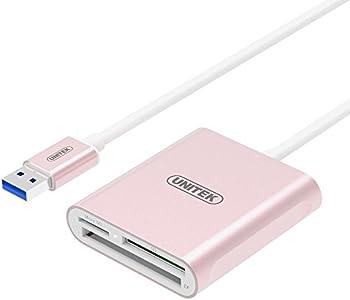 UNITEK Y-9324RG USB 3.0 Multi-in-1 Memory Card Reader