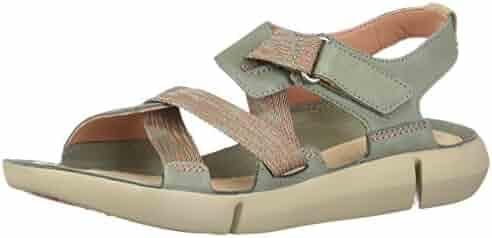 3c5e35520e5 CLARKS Tri Clover Women s Sandal 6 B(M) US Light Green