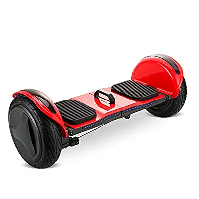JIAWE Children's Intelligent Folding Balance Bike, 10 Inch Two-Wheel Electric Scooter, with Atmosphere Light, 500W Power Motor, Load: 150KG: Home & Kitchen