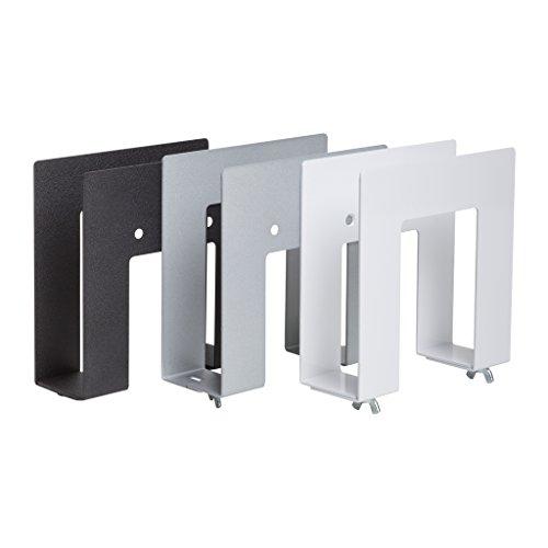 Hideit Uni Sw Silver Adjustable Mini Computer Wall Mount