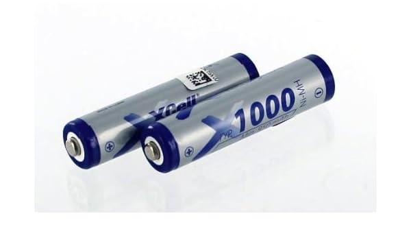 Batería compatible con Siemens Gigaset A400 Teléfono con NiMH/2 x 1,2 V/1000 mAh: Amazon.es: Electrónica