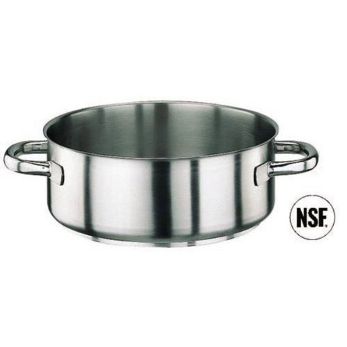 Paderno Stainless Steel 13 3/4 Quart Rondeau Pot