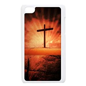 GGMMXO Jesus Shell Phone Case For Ipod Touch 4 [Pattern-1]