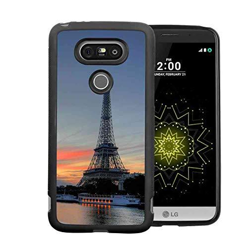 Phone Case Compatible LG G5 (2016) (5.3 Version) City Nature Paris Tower Eiffel ()
