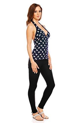 Mia Suri - Vestido - para mujer Black Swan Print