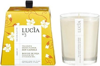 Lucia Candle Tea Leaf And Honey Flower 0 47 Ounce Amazon Ca Beauty