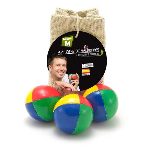 Das Ultimative 3 Ball Jonglier Set mit GRATIS online Lern Video - C E Geprüft