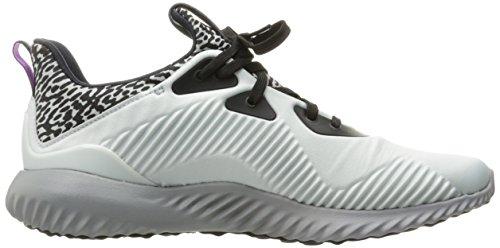 Adidas Performance Kvinners Alphabounce W Løpesko Krystall Hvit / Neo Jern Metallisk Aluminium