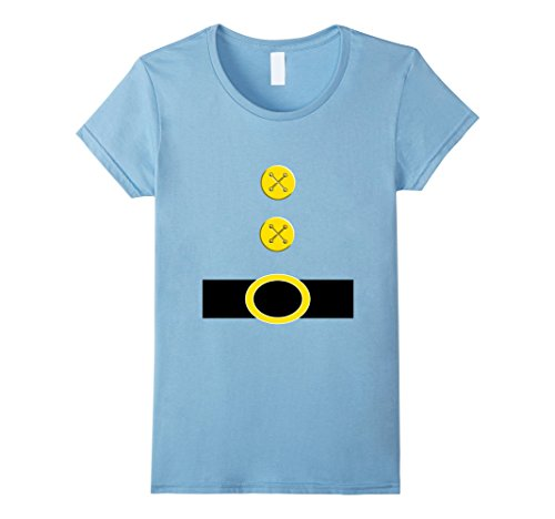 Womens Halloween Dwarf Costume Preschool Teacher Gift Shirt Large Baby Blue