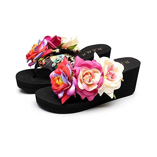 scarpe adattano basse della femminili estivi dolce del I pendio le spiaggia sandali molli 1 qnwtYnBX