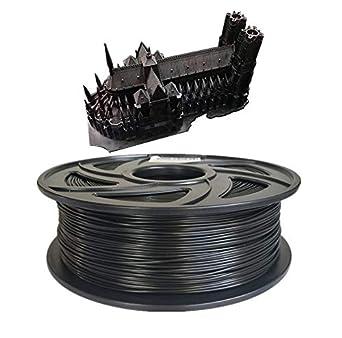 1 kg de filament PLA pour imprimante 3D de bureau 1,75 mm C-TECH PLA Noir