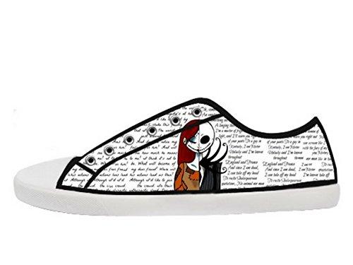 Et Førjulsmareritt Logo Ladys Sklisikker Canvas Sko Tnbc Lerret Shoes05