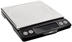 OXO Good Grips Stainless Steel Food Scale with Pull-Out Display