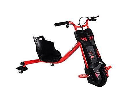 Babycoches Triciclo Hoverboard Eléctrico Power Faster Grados Color Rojo