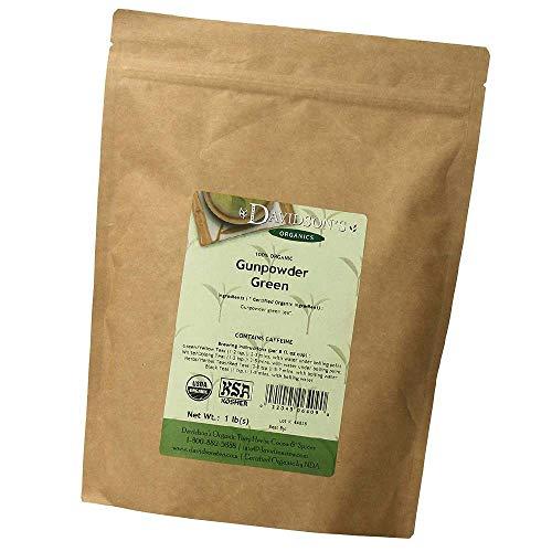 Tea Bulk, Gunpowder Green, 1-Pound Bag (New Version)