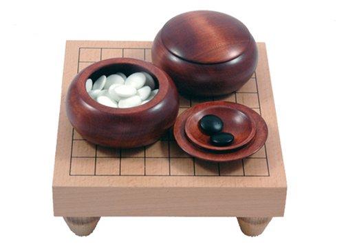 Go-Spiel: 9x9-Tisch-Set, dunkel