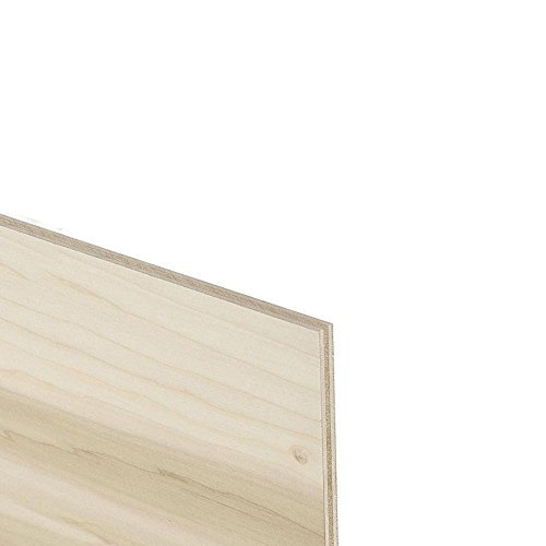 Unfinished Poplar Plywood Toe Kick Plate, 8