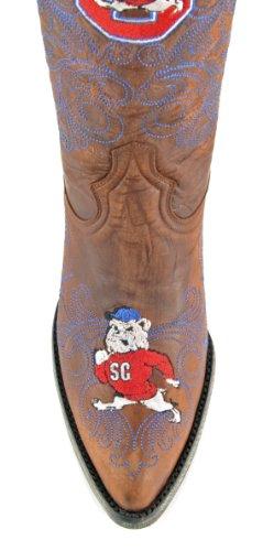 NCAA South Carolina State Bulldogs Women's 13-Inch Gameday Boots, Brass, 7.5 B (M) US