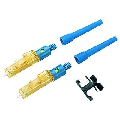 Panduit FLCDSCBUY Single-Mode Fiber Optic Connector, Blue