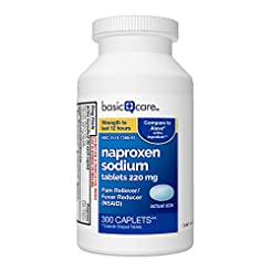 Basic Care Naproxen Sodium Tablets, 300 ...