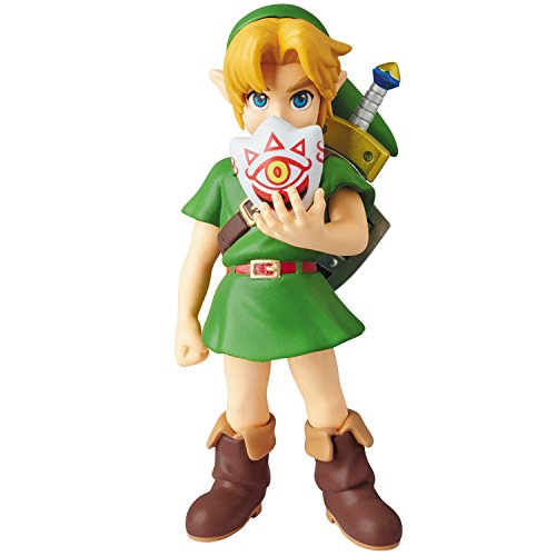 Medicom-Nintendo-Ultra-Detail-Series-The-Legend-Of-Zelda-MajoraS-Mask-Link-Udf-Figure