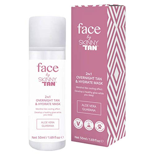 FACE by Skinny Tan 2 in 1 Overnight Tan and Hydrate Mask 50ml