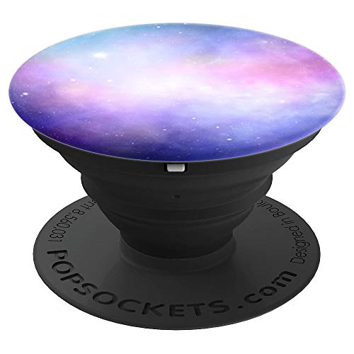 Awayk Galaxy PopSockets Stand for Smartphones and Tablets - PopSockets Grip and Stand for Phones and Tablets