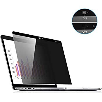MacBook Pro 13 Screen Privacy, Webcam Cover Slider - Magnetic Privacy Screen Compatible with MacBook Pro 13.3 inch(Late 2016-2019 Including Touch Bar ...